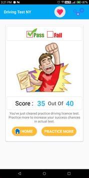 New York DMV Permit Practice Test 2018 screenshot 7