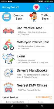 New York DMV Permit Practice Test 2018 poster