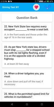 New York DMV Permit Practice Test 2018 screenshot 1