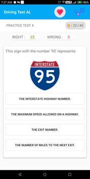 Alabama DMV Permit Practice Driving Test 2018 screenshot 6