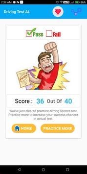 Alabama DMV Permit Practice Driving Test 2018 screenshot 7