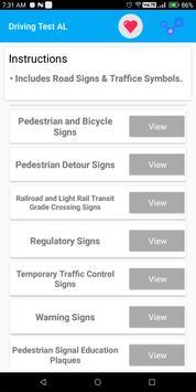 Alabama DMV Permit Practice Driving Test 2018 screenshot 2