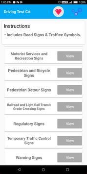 California DMV Permit Practice Driving Test 2018 screenshot 2