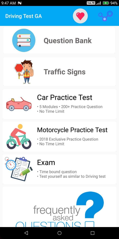 dds drivers permit practice test