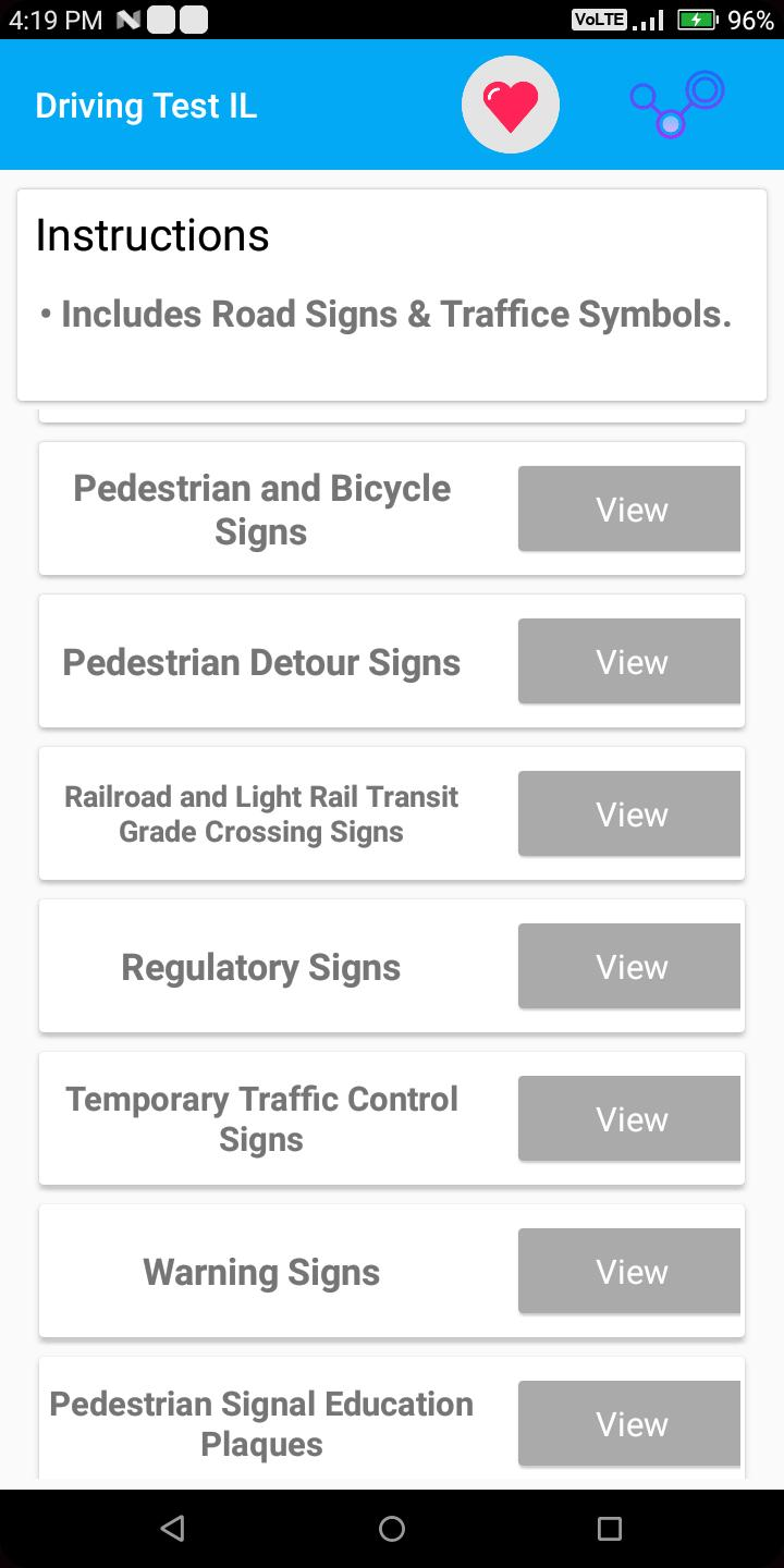 Illinois DMV Permit Practice Test 2018 for Android - APK