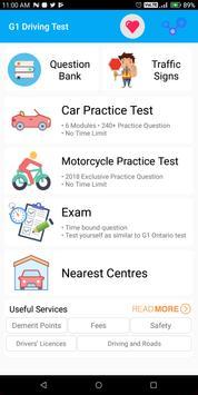 G1 Practice Test Ontario 2018 poster