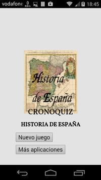 CronoQuiz Historia de España poster