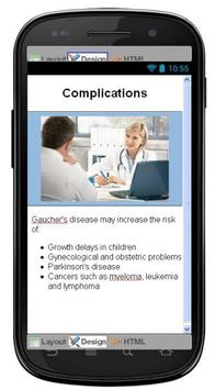 Gauchers Disease & Symptoms screenshot 4