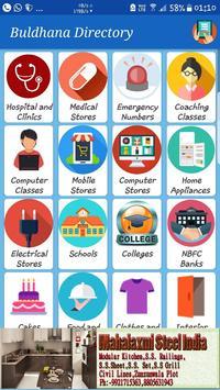 Buldhana Directory poster