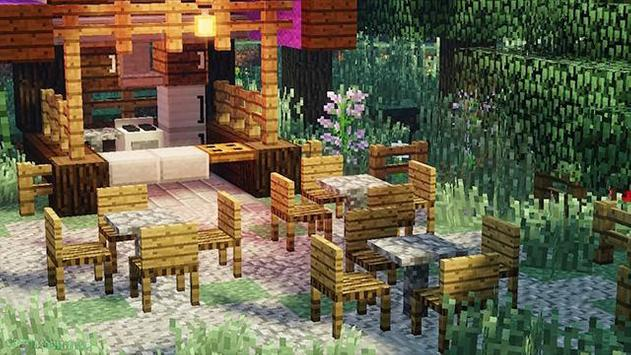Decoration mod and furniture for Minecraft poster