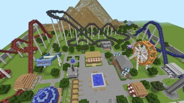 New theme park for minecraft for Android - APK Download
