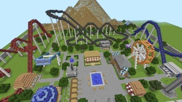 New theme park for minecraft screenshot 1