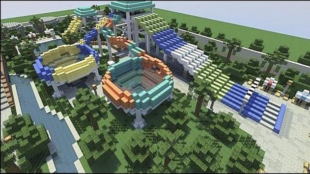 New theme park for minecraft screenshot 2