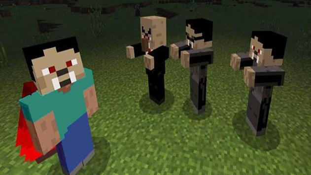Vampire mod for Minecraft poster