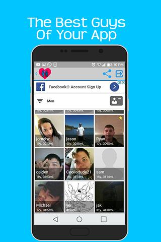 Gay up no chat sign Online free