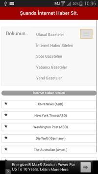 Tüm Gazeteler Ulusal&Yabanci screenshot 13