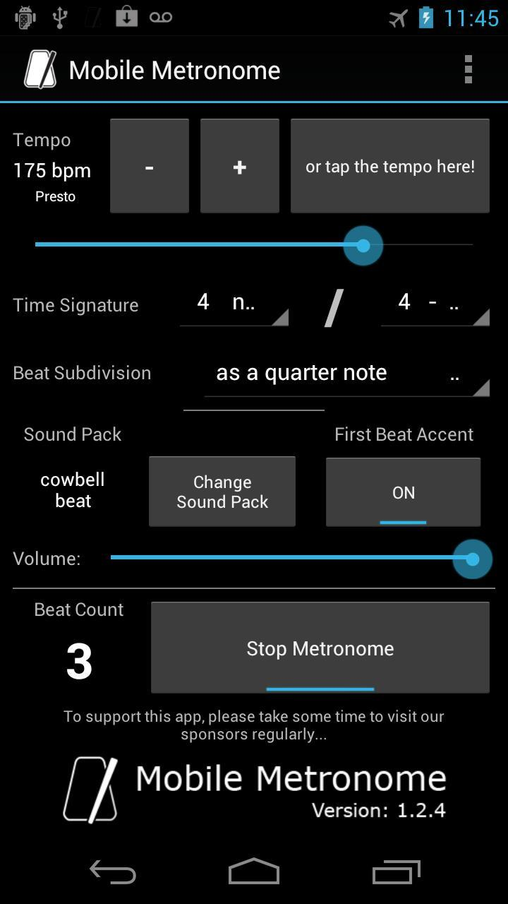 Mobile Metronome For Android Apk Download