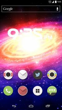 Galaxy Live Wallpaper screenshot 1