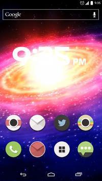 Galaxy Live Wallpaper screenshot 2