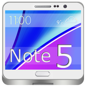 Note 5 Launcher and Theme icon