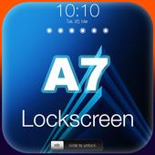 Lock Screen for Galaxy A5, A7 HD icon