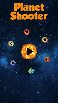 Planet Shooter - Solar Space poster