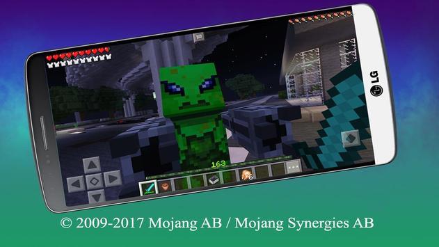Alien Invasion Map for MCPE apk screenshot