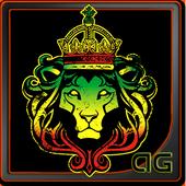 Rastafari Lion of Judah Magic icon