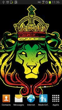 Rastafari Lion of Judah Magic poster