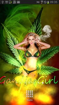 Sexy Weed Girl Magic Touch poster