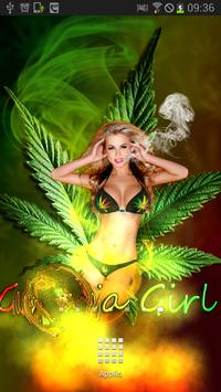 Sexy Weed Girl Magic Touch apk screenshot