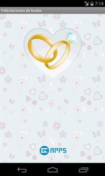 Felicitaciones de boda poster