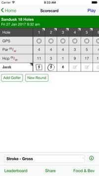 Sandusk Golf Club screenshot 2