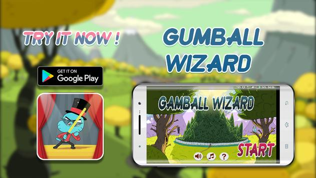 super Gamball Wizard subway Slime Time poster
