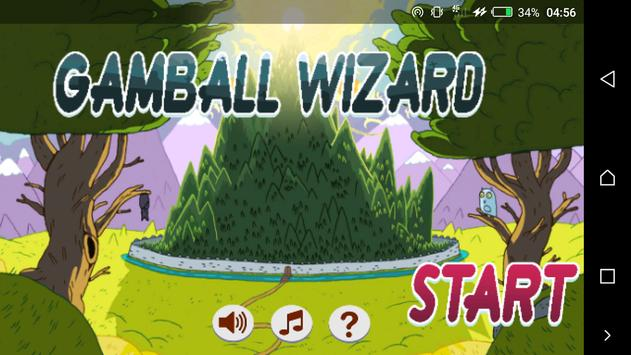 super Gamball Wizard subway Slime Time screenshot 2