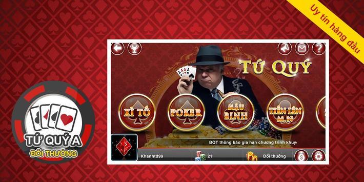 Game bài Tứ Quý A - Đệ nhất poster