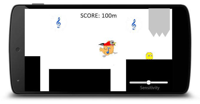 Scream chicken Go screenshot 1