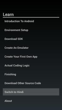 Create Your Own App - Hindi/Eng screenshot 1