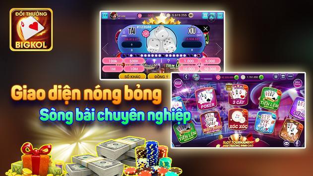 BIGK - ĐỔI THƯỞNG, danh bai doi thuong, game bai apk screenshot