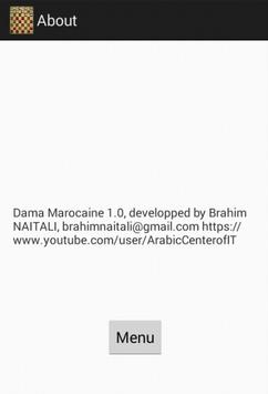 DamaMarocaine apk screenshot
