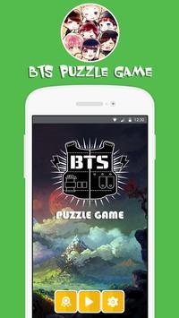 💘 BTS Bangtan Puzzle Game poster