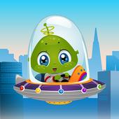Air space combat icon