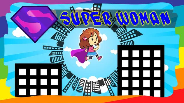 Super Woman City poster