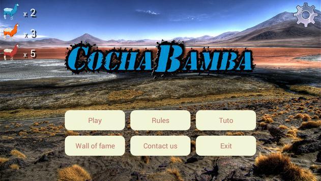 Card game - CochaBamba poster