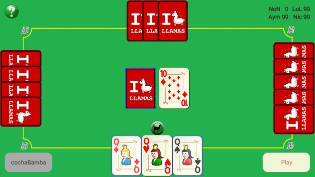 Card game - CochaBamba apk screenshot