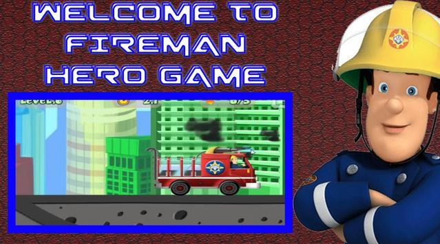 Super Hero Fireman  Firetruck Sam Mission Game poster