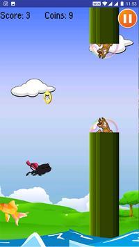 Flappy Super Cat screenshot 3