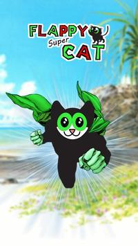 Flappy Super Cat poster