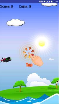 Flappy Super Cat screenshot 1