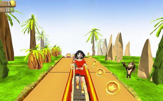 Subway Princesss Run Jungle screenshot 1